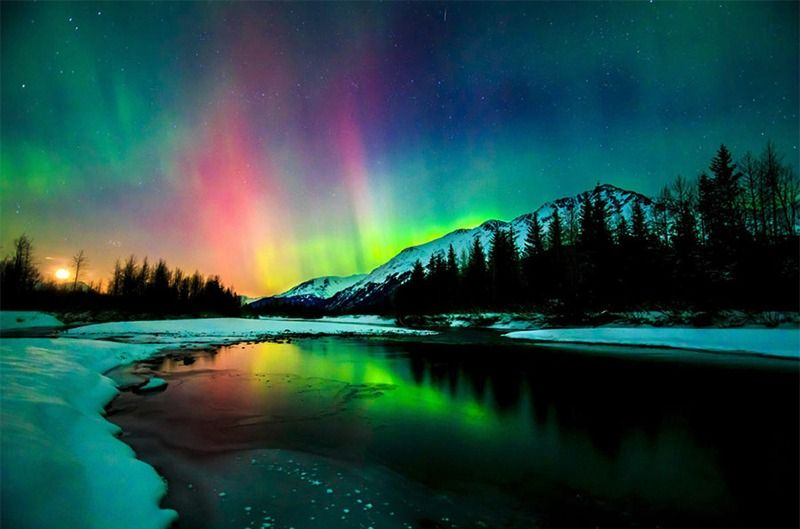شفق قطبی ( ویژه ژانویه )