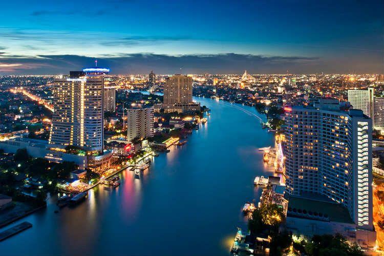 شهرهای گردشگری تایلند